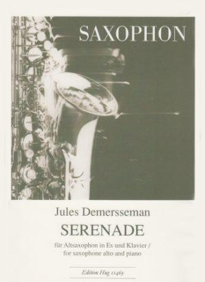 Serenadeop.33(1862)para saxofón alto y piano.JulesDemersseman