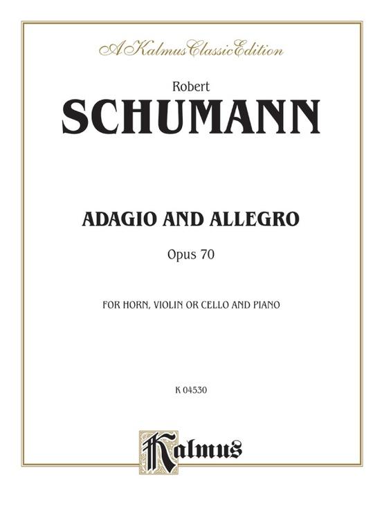 AdagioandAllegroinC-Durop.70. RobertSchumann