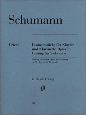 Fantasiestückeop.73para clarinete en Sib o La y piano. RobertSchumann