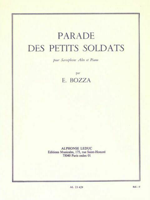 ParadedesPetitsSoldats(1964). Eugene Bozza