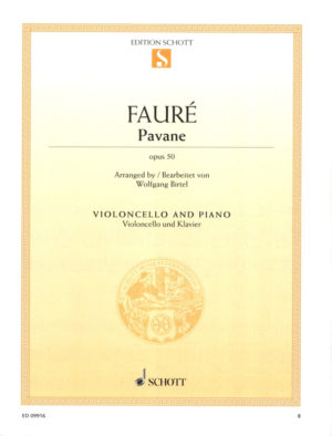 Pavaneop.50para cuarteto de saxofones.GabrielFaure