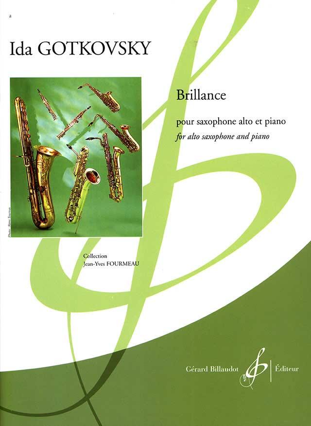 Brillance(1974)para saxofón alto y piano. Ida Gotkovsky