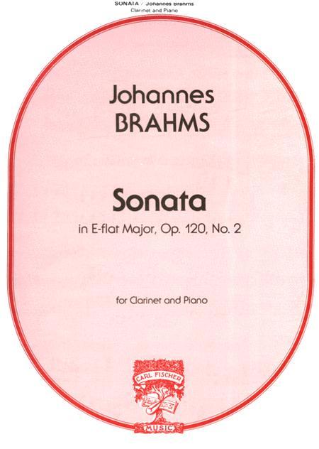 SonateinEs-Durop.120No.2. JohannesBrahms