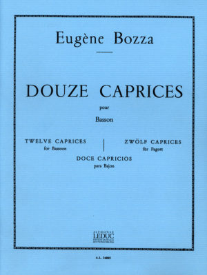 12Etudes-Capricespara saxofón. EugeneBozza