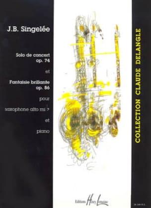 FantaisieBrillanteop.86(1862)para saxofón alto y piano.Jean-Baptiste Singelee