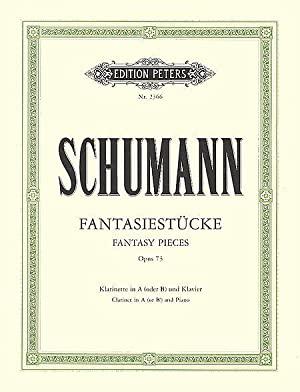Fantasiestückeop.73para clarinete en A o Bb y piano. RobertSchumann