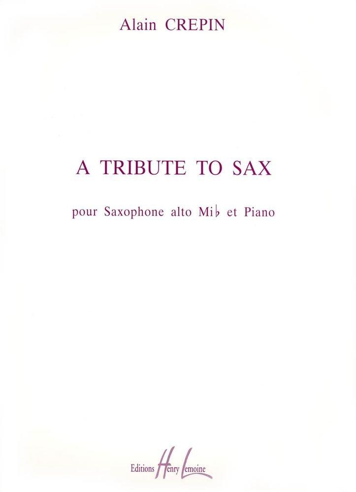 ATributetoSax(1994).Alain Crepin