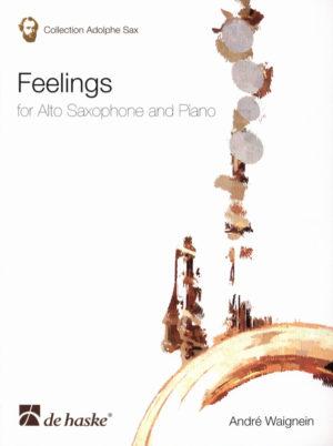 Feelings(1970/84) para saxofón alto y piano.Andre Waignein