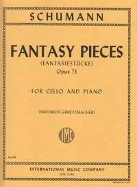 Fantasiestückeop.73para clarinete en La y piano. Robert Schumann
