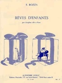 Revesd'Enfants(1964)para saxofón alto y piano. Eugene Bozza