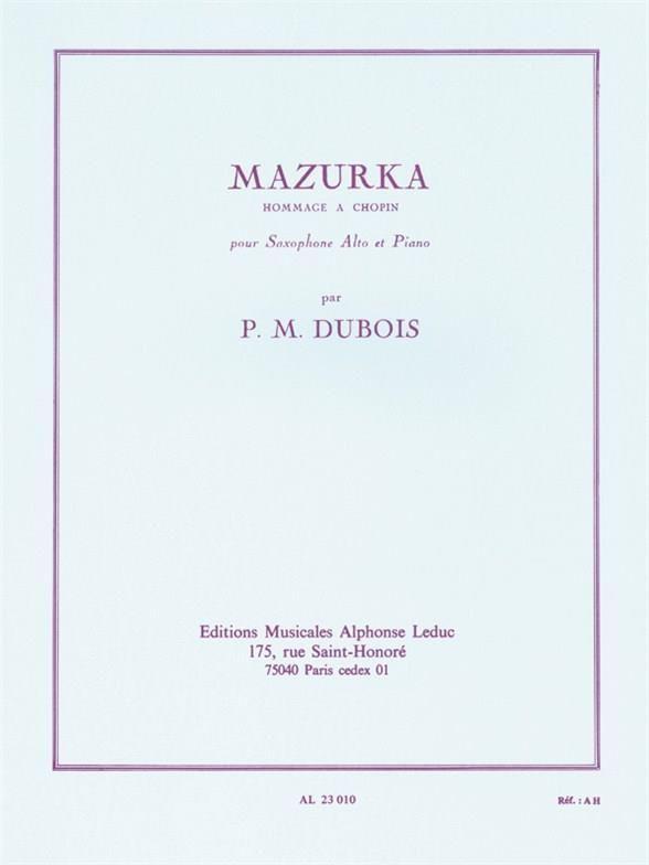 Mazurka(1961). PierreMax Dubois