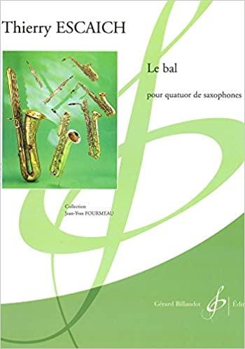 LeBal(2003)para saxofón.Thierry Escaich