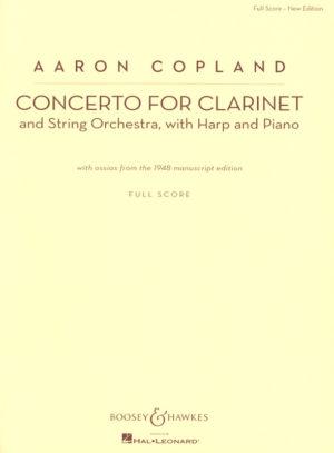 Concerto(1948)para clarinete y piano.Aaron Copland