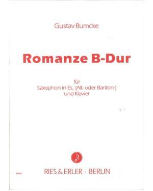 RomanzeinB-Durop.44No.1. Gustav Bumcke