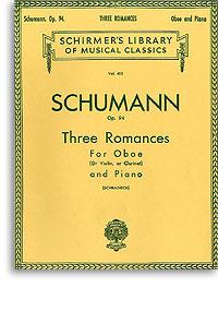 DreiRomanzenop.94para clarinete en La y piano. RobertSchumann