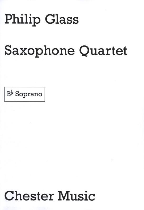 SaxophoneQuartet(1995).Philip Glass