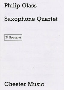 Saxophone Quartet (1995). Philip Glass