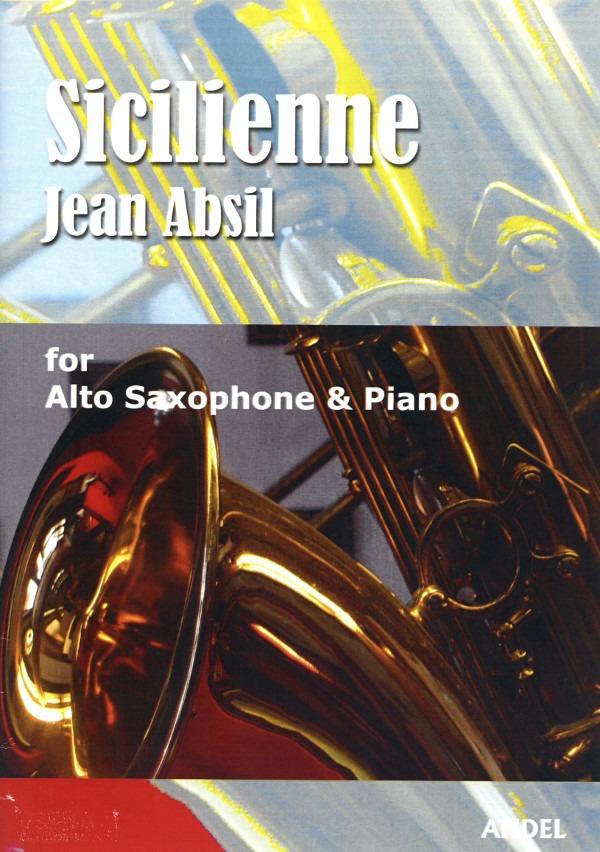 Sicilienne(1950)para saxofón alto y piano.Jean Absil