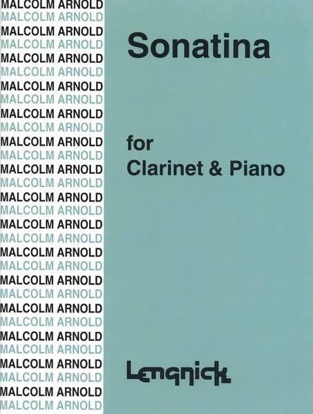 Sonatinaop.29(1951)para clarinete y piano. Malcolm Arnold
