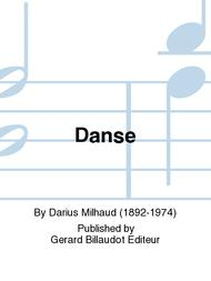Danse-Dance(1954)para saxofón alto y piano.Darius Milhaud