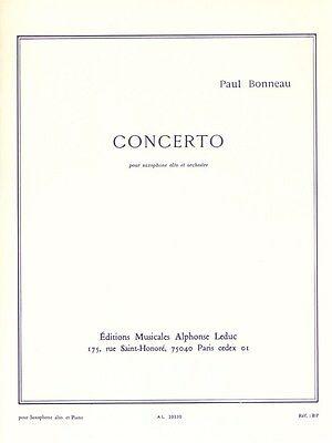 Concerto(1944). Paul Bonneau