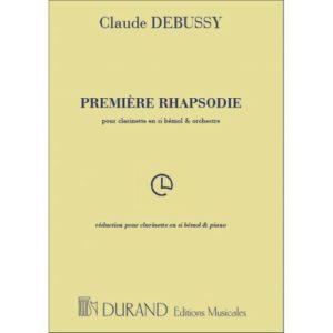 PremiereRhapsodie para clarinete y piano.Claude Debussy