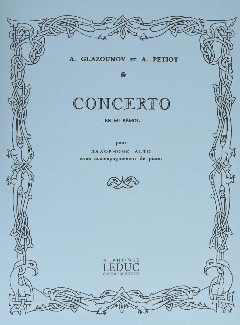 Concerto en Mib Mayor(1934). AlexanderGlazounov