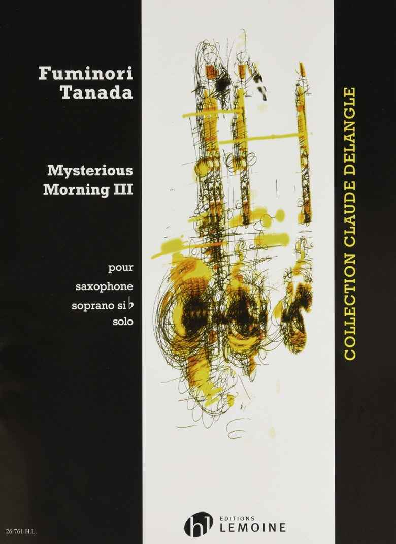 MysteriousMorningII(1996)para cuarteto de saxofones.Fuminori Tanada