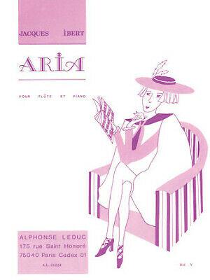 Aria(1930)para saxofón alto y piano. Jacques Ibert