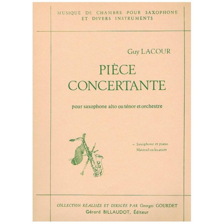PieceConcertante(1975/76) Guy Lacour
