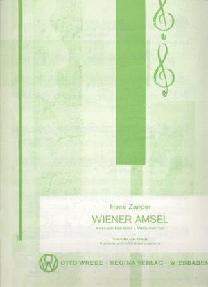 WienerAmselpara clarinete y piano. Hans Zander