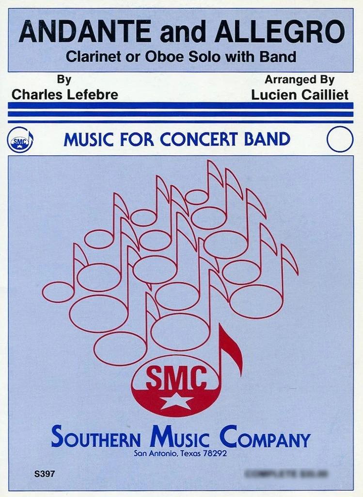 AndanteandAllegroop.102para saxofón alto y piano. CharlesLefebvre
