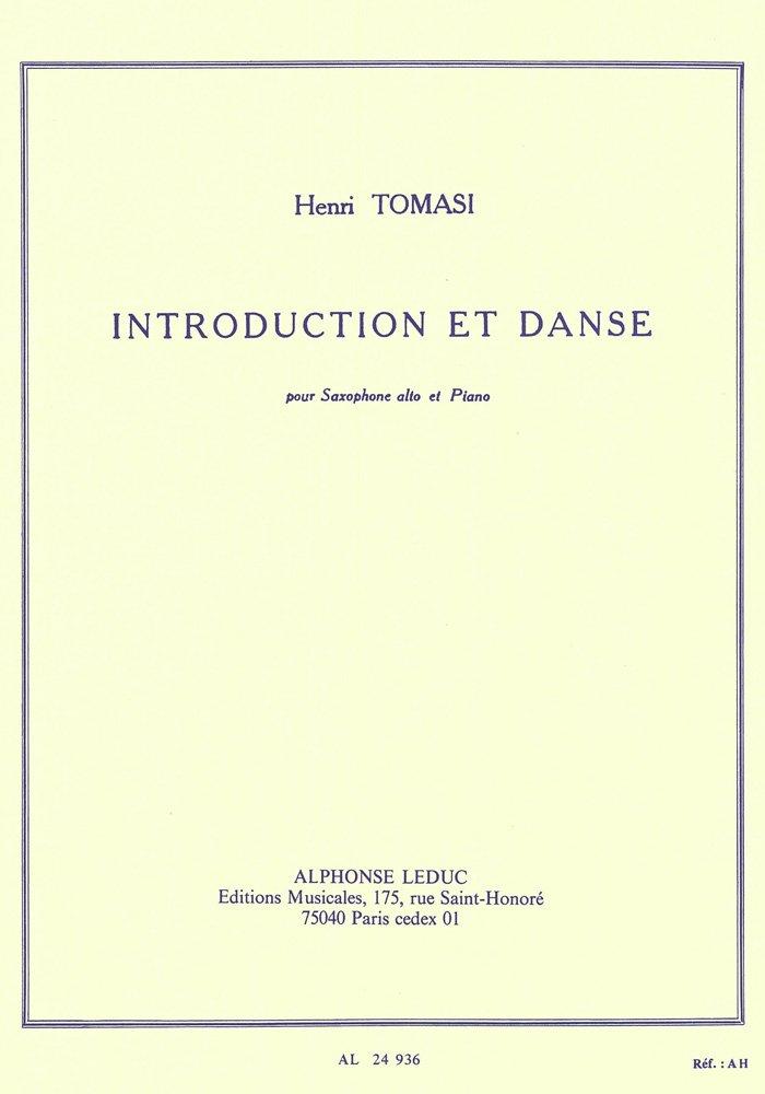 IntroductionetDanse(1949). Henri Tomasi