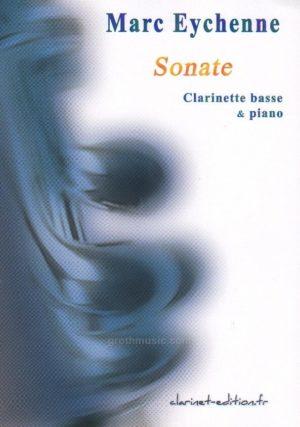 Sonate(1990)para clarinete en La y piano. Marc Eychenne