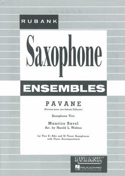 Pavanepara saxofón.MauriceRavel