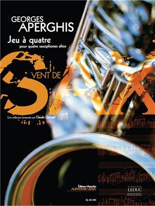 Jeuaquatre(2003)para saxofón.Georges Aperghis