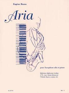 Aria(1936)para saxofón alto y piano. Eugene Bozza