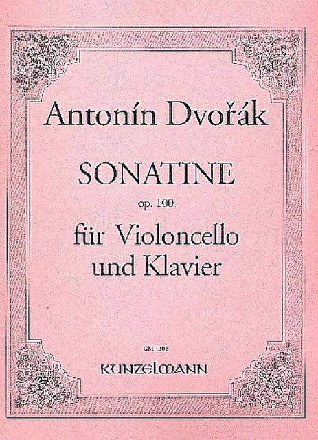 Sonatineop.100para clarinete y piano.AntonDvorak