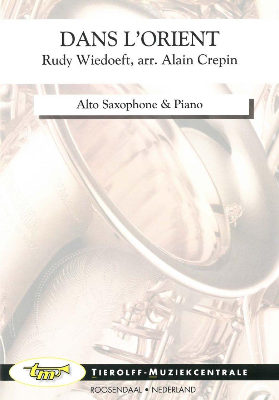 DansL'Orientpara saxofón alto y piano. RudyWiedoeft