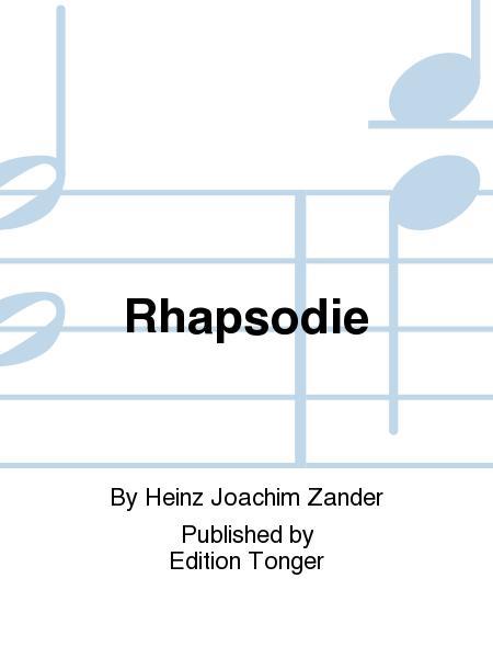 Rhapsodiepara clarinete bajo y piano. HeinzJoachim Zander