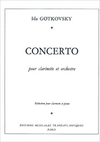 Concerto(1968)para clarinete y orquesta.Ida Gotkovsky