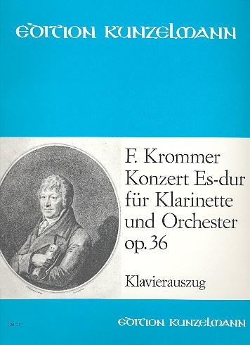 KonzertinEs-Durop.36para clarinete y piano. FranzKrommer