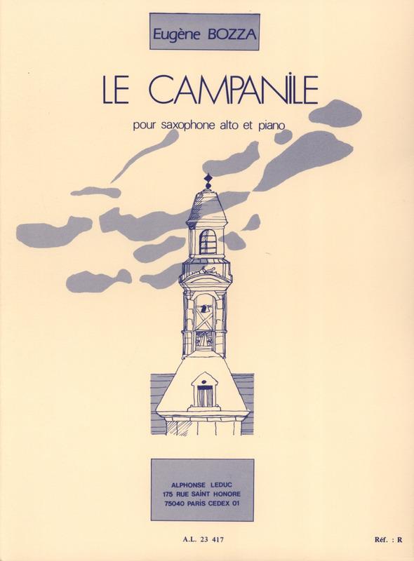 LeCampanile(1964)para saxofón alto y piano.Eugene Bozza