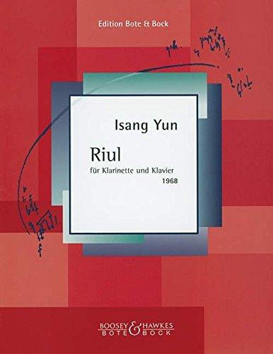 Riul(1968)para clarinete y piano. Isang Yun