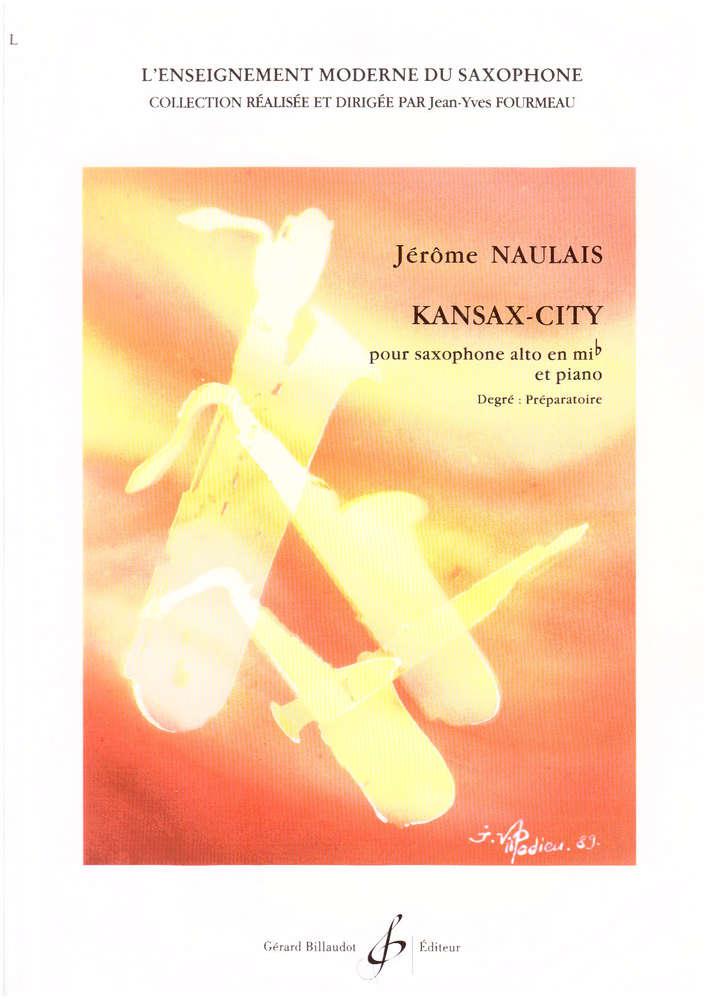 KansaxCity(1991)para saxofón alto y piano. Jerome Naulais