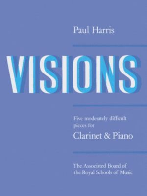 Visions,5moderatel ydifficultPieces. Paul Harris