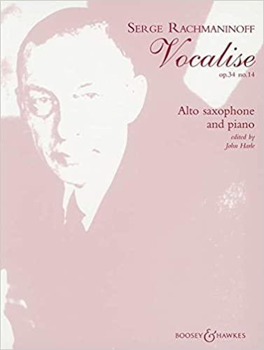 Vocaliseop.34No.14para saxofón alto y piano.SergeiRachmaninoff
