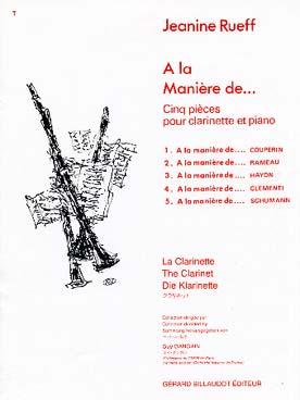 AlaManierede....5StückenachArtvonCouperin,Rameau,Haydn,Cle.Jeanine Rueff