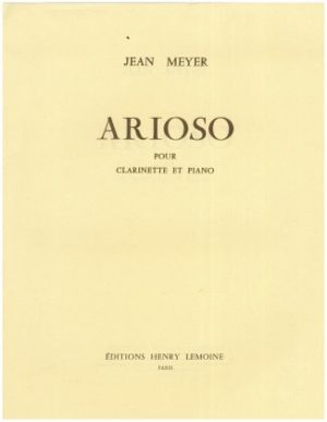 Arioso. Jean Meyer