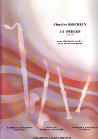14 Pieces op.178. Charles Koechlin